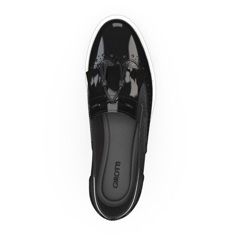 Chaussures à Plateformes à Enfiler 3475