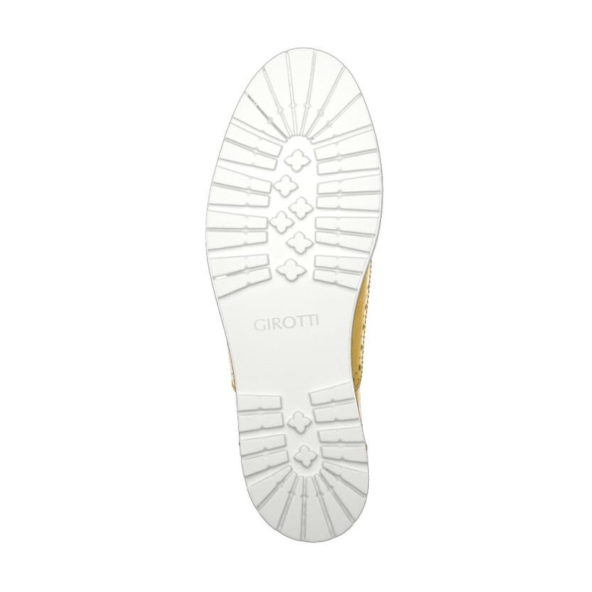 Chaussures à Plateformes à Enfiler 4352