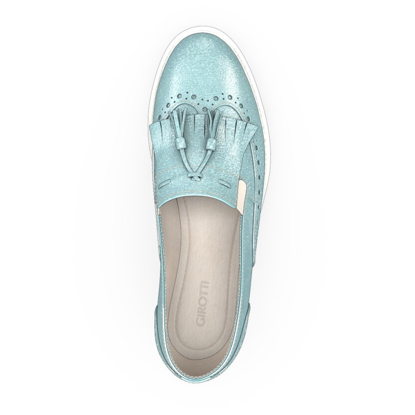 Chaussures à Plateformes à Enfiler 4361