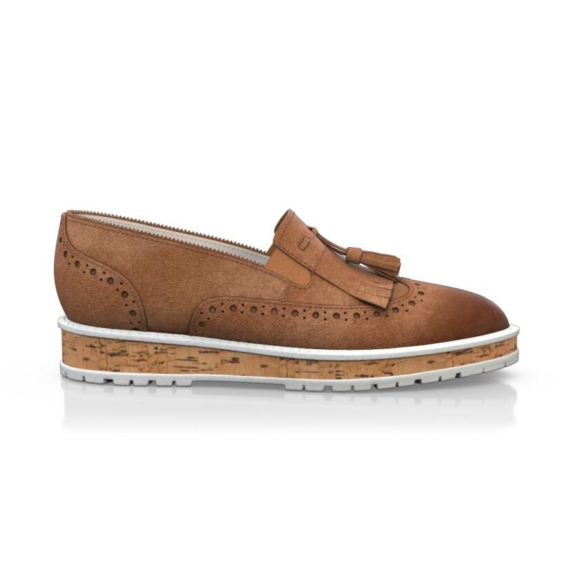 Chaussures à Plateformes à Enfiler 4367