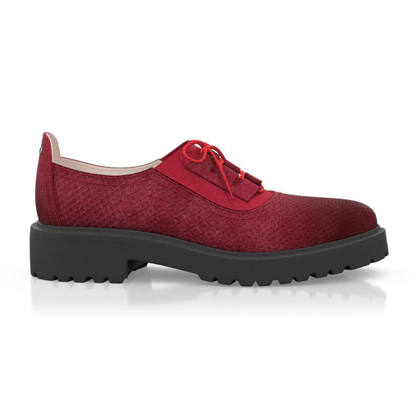 Chaussures à lacet étendu 5803