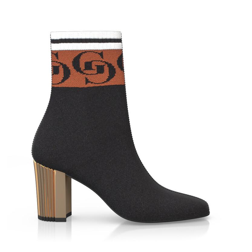 Bottines chaussettes 8037