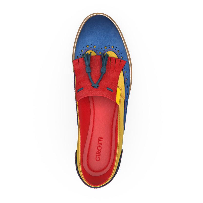 Chaussures à Plateformes à Enfiler 9272