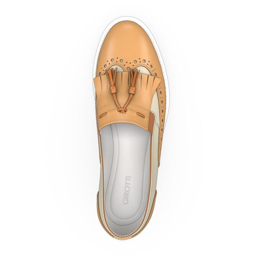 Chaussures à Plateformes à Enfiler 2481