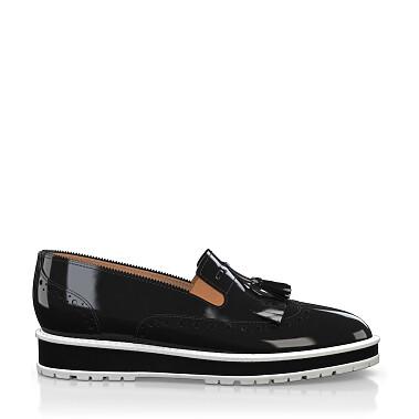 Chaussures à Plateformes à Enfiler 3509