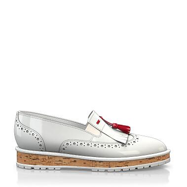 Chaussures à Plateformes à Enfiler 4416