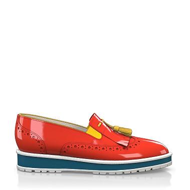Chaussures à Plateformes à Enfiler 4417