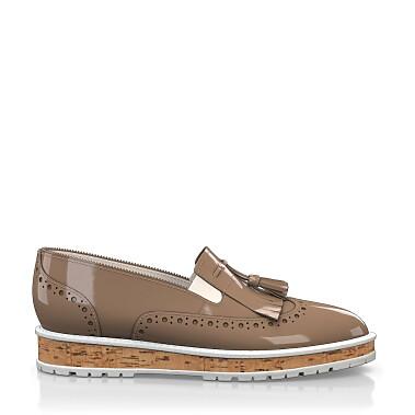 Chaussures à Plateformes à Enfiler 4418