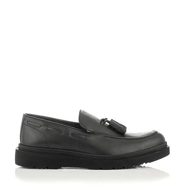 Chaussures Slip-on pour Hommes Luigi Noir