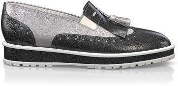 Chaussures à Plateformes à Enfiler 2721
