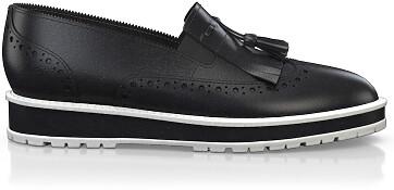Chaussures à Plateformes à Enfiler 3629