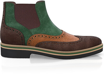 Lightweight Men`s Ankle Boots 23281