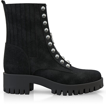 Bottines Zip-On 3857