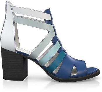 Sandales à Talon Large 4505