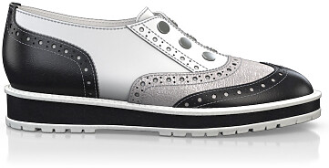 Chaussures Compensées Décontractées 4526