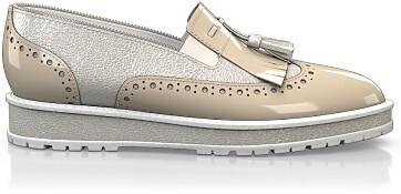 Chaussures à Plateformes à Enfiler 4555