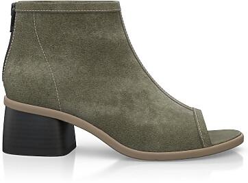 Sandales avec bout ouvert 4880