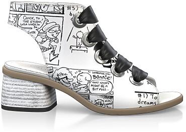 Sandales avec bout ouvert 4890