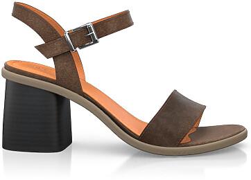 Sandales avec bretelles 4981