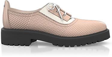 Chaussures à lacet étendu 5792