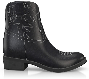 Bottines à la cheville Western 6126