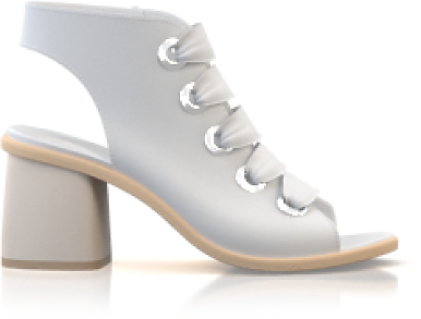 Sandales avec bout ouvert