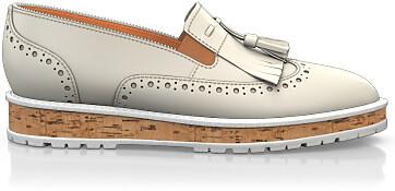 Chaussures à Plateformes à Enfiler 2498