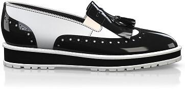 Chaussures à Plateformes à Enfiler 2595