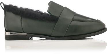 Chaussures à Enfiler Giorgia Vert Foncé