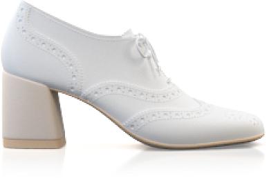 Chaussures à talons carrés