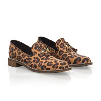 Leopard slipons