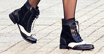 Elegant ankle boots