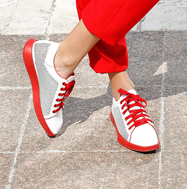 Square Toe Sneakers
