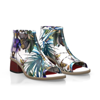 Floral boots 4884