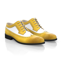 Men`s Derby Shoes Yellow