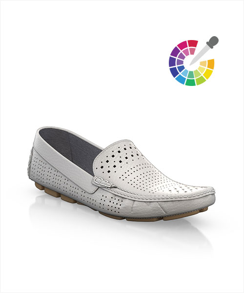 One color mocassins