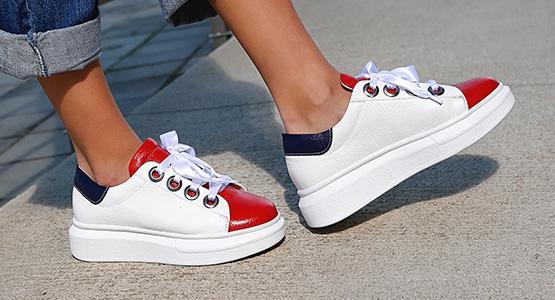 Platform Sneakers 16593