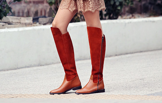 Pattern boots