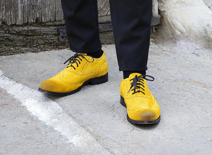 Men`s oxford shoes