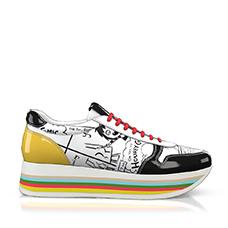 Raibow sole sneakers 3